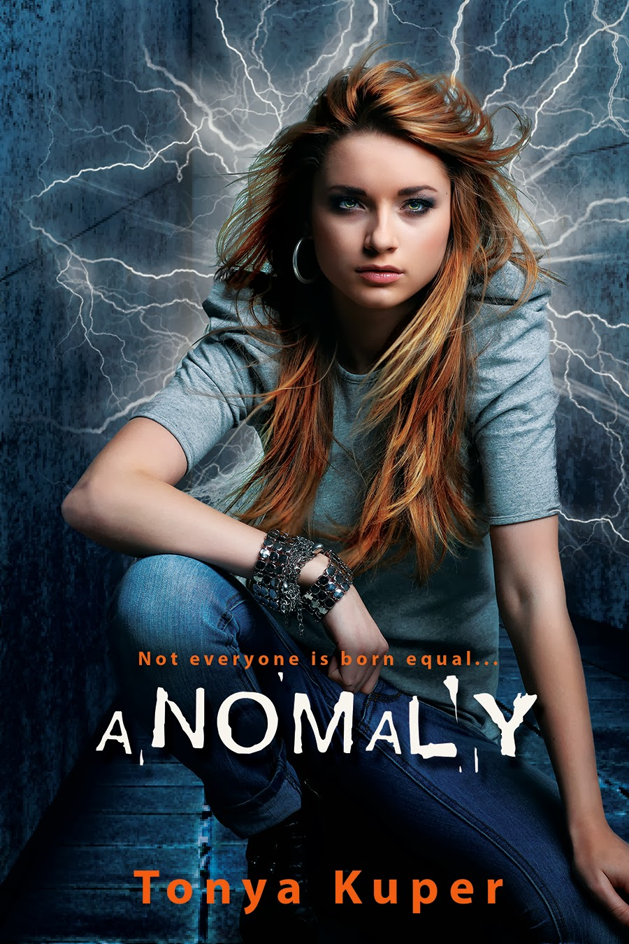 Cover Reveal and Giveaway: Anomaly by Tonya Kuper