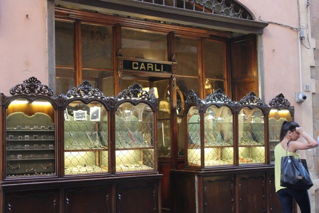 Shopping In Lucca at the Oldest Jewellery Store in Town