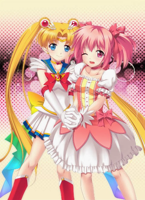 Madoka the ever popular and Sailor Moon also was a magical girl