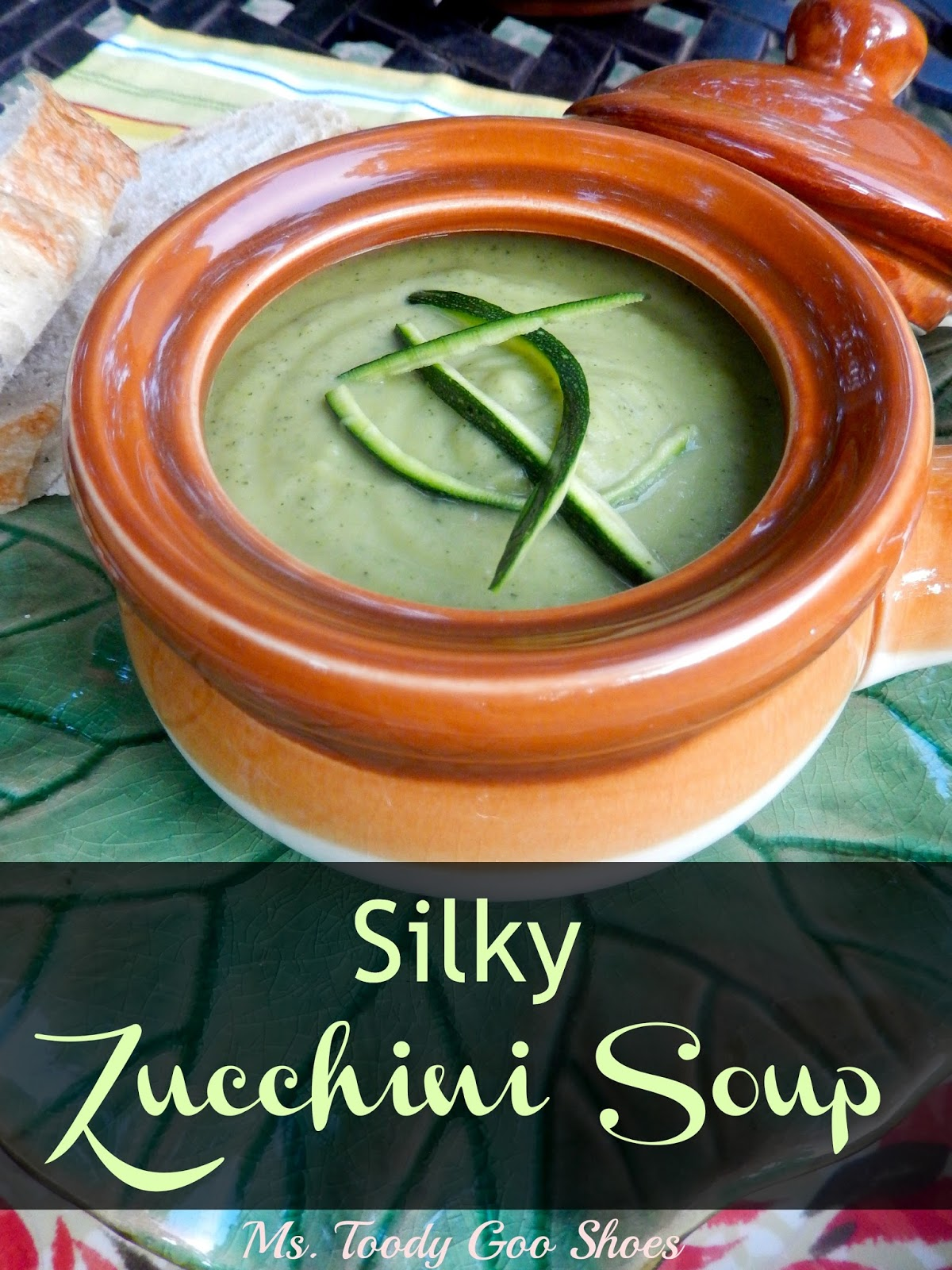 Silky Gingered Zucchini Soup Recipe — Dishmaps