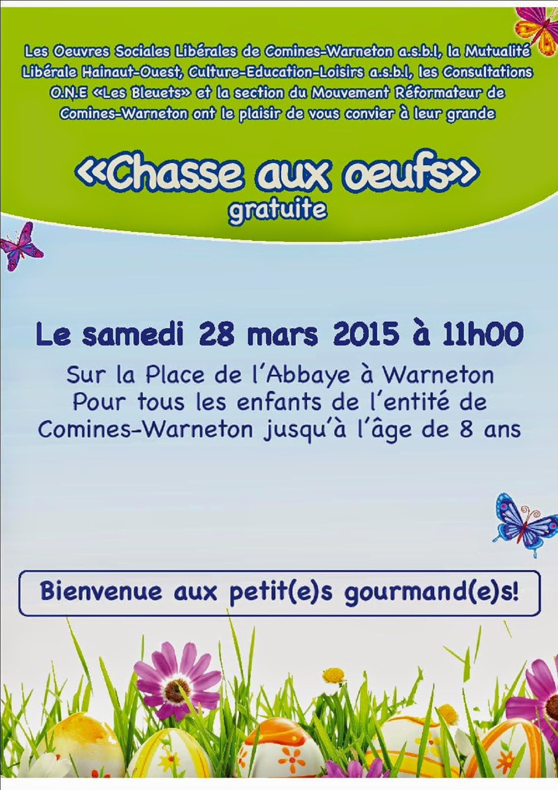 28 MARS CHASSE AUX OEUFS
