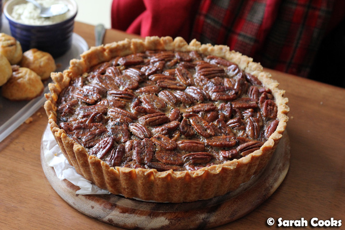 Sarah Cooks: Maple Pecan Pie
