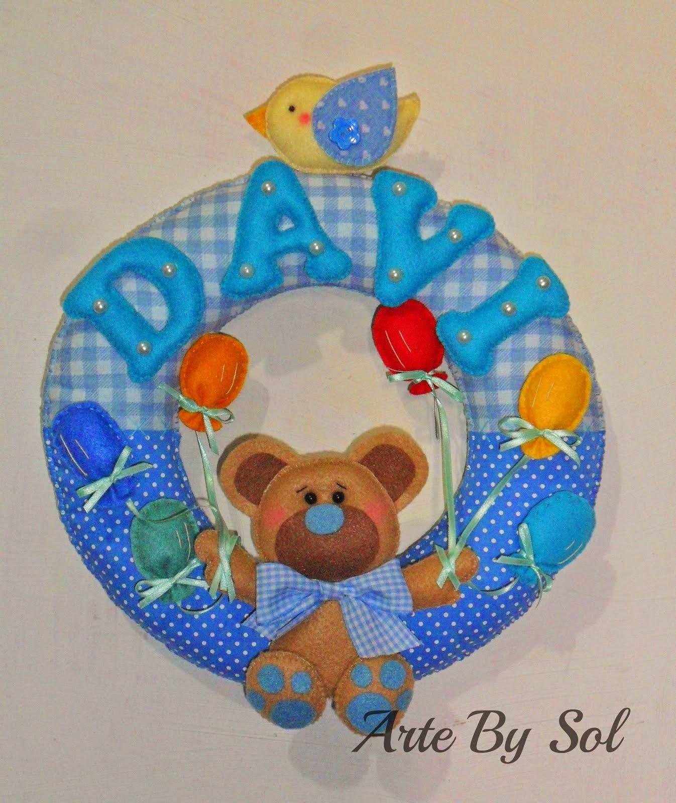 Guirlanda Ursinhos e os Balões