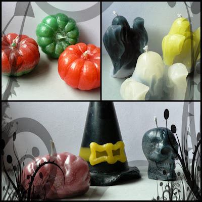Halloween Candle Collection by Pavios & Parafina