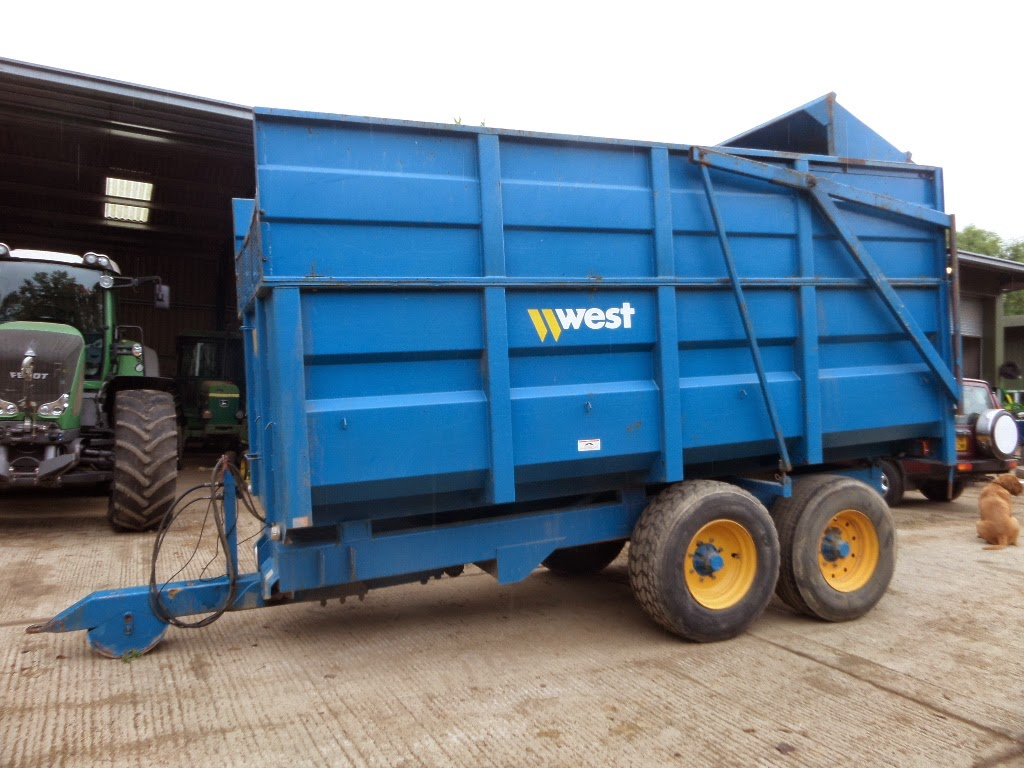 Used Tractor Trailers : Used tractors machinery and plant west tonne tipping
