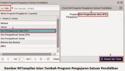 Program Pengajaran Satuan Pendidikan