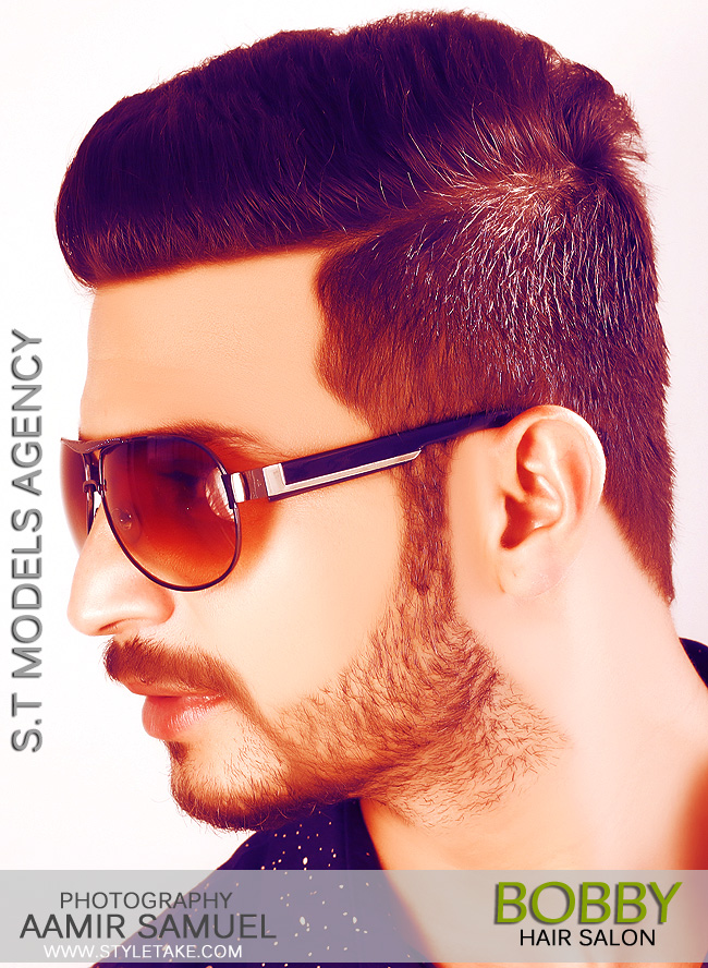 S T Models Of Pakistan Bobby Hair Style Photo Shoot By Aamir Samuel