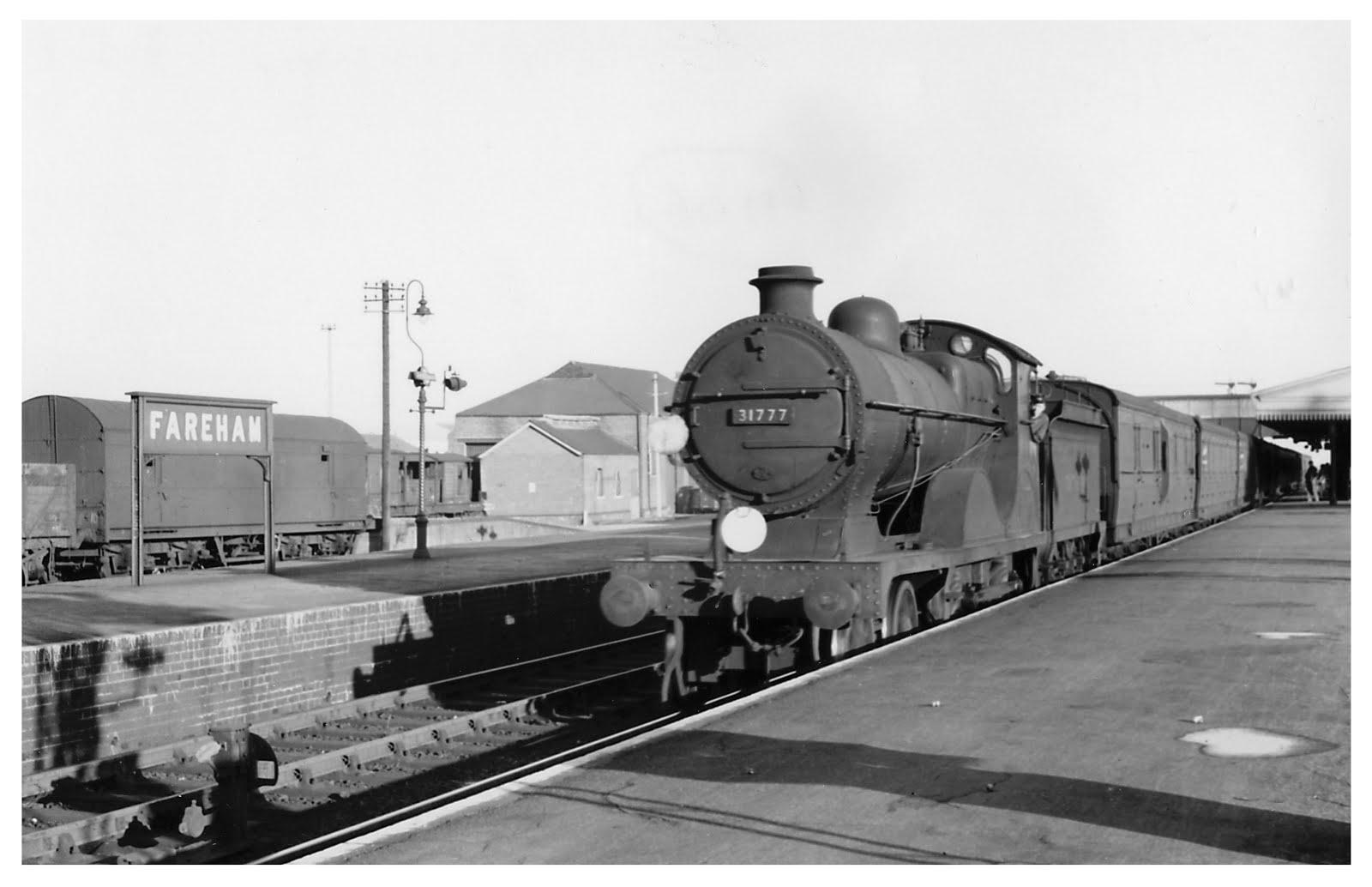 Gosport Train at Fareham