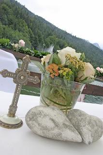 Evangelische Trauung auf dem Wasser - Riessersee-Floß