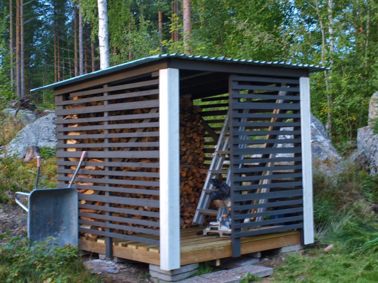 Lilla huset på Myran: Vedbod