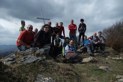 Herniozabal mendiaren gailurra 1.075 m. - 2012ko martxoaren 17an