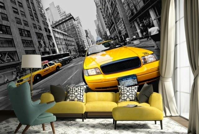 Yellow Taxi Photo Wallpapers Ideas