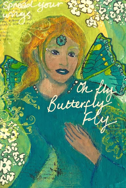 Whoopidooings: Carmen Wing: ICAD week 2 - Fly Butterfly Fly