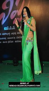 Udaya Bhanu in low hip saree