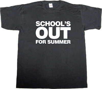 school's out autobombing alice cooper t-shirt ephemeral-t-shirts