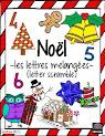 Noël - lettres melangées
