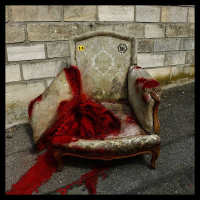 Lor-K, Objeticide Numéro 14 fauteuil tué