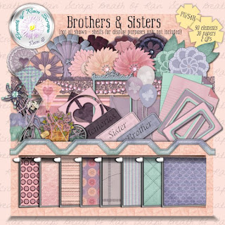 Brothers & Sisters Mini Kit **Freebie** and Contest