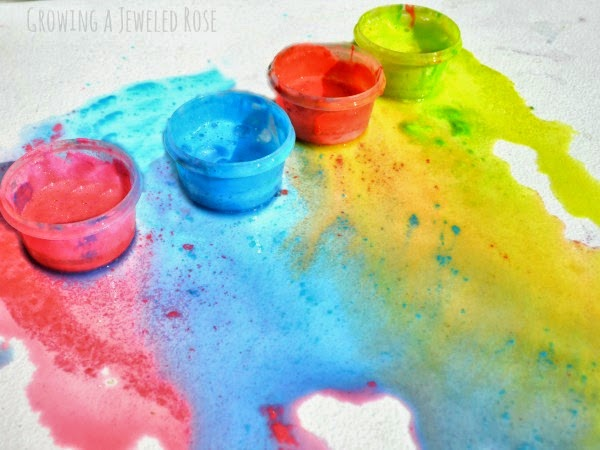 Homemade glue paint recipe