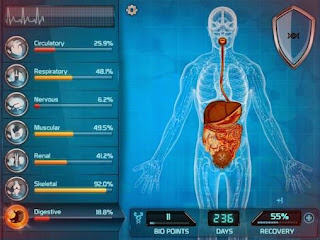 Screenshots of the Bio inc: Biomedical plague for Android tablet, phone.