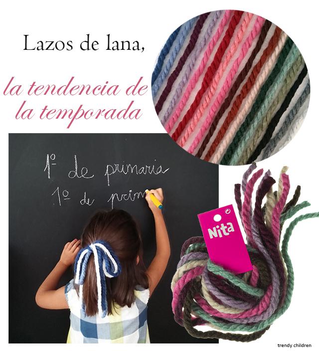 lazos lana niña tendencia moda infantil nita