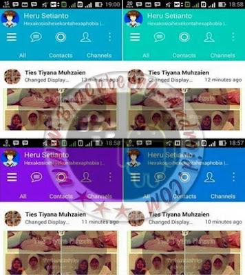 BBM Mod Change Color Your Style New v2.8.0.21 Apk
