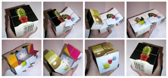 Куб с фотографиями своими руками 99