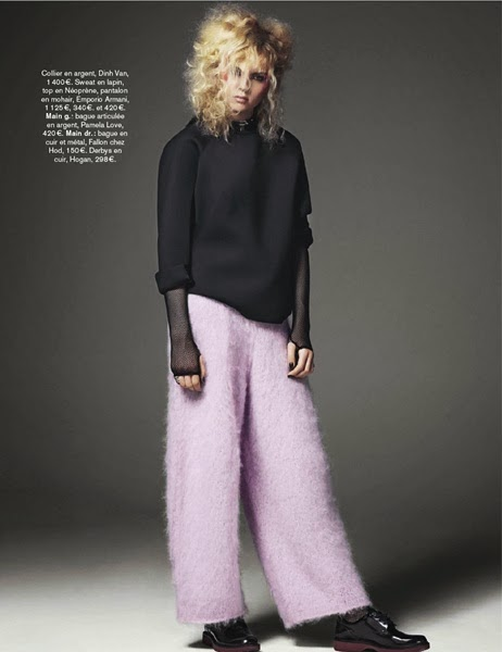 Emporio Armani AW 2013 Furry Pants 9 Looks