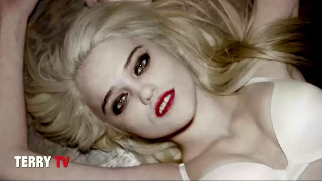 Sky Ferreira Red Lips Video Still