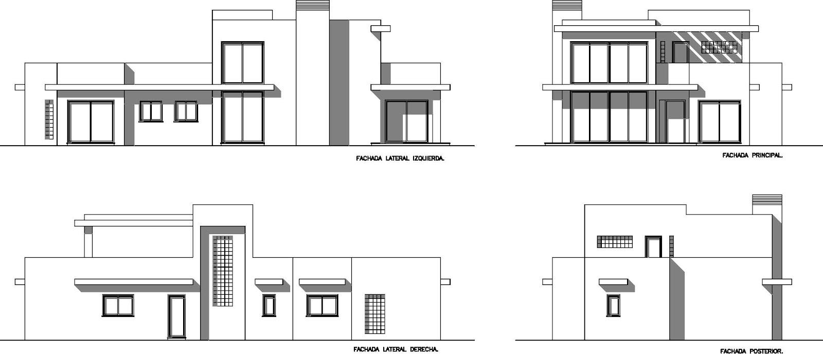 Casa de este alojamiento diseno de viviendas unifamiliares pdf fachadas - Diseno de viviendas ...