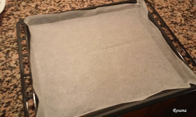 ponemos papel para horno
