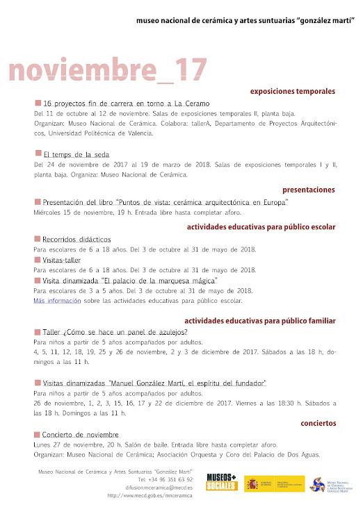 ACV 06 MUSEO GLEZ MARTÍ (01 al 30 de Novembre 2017)