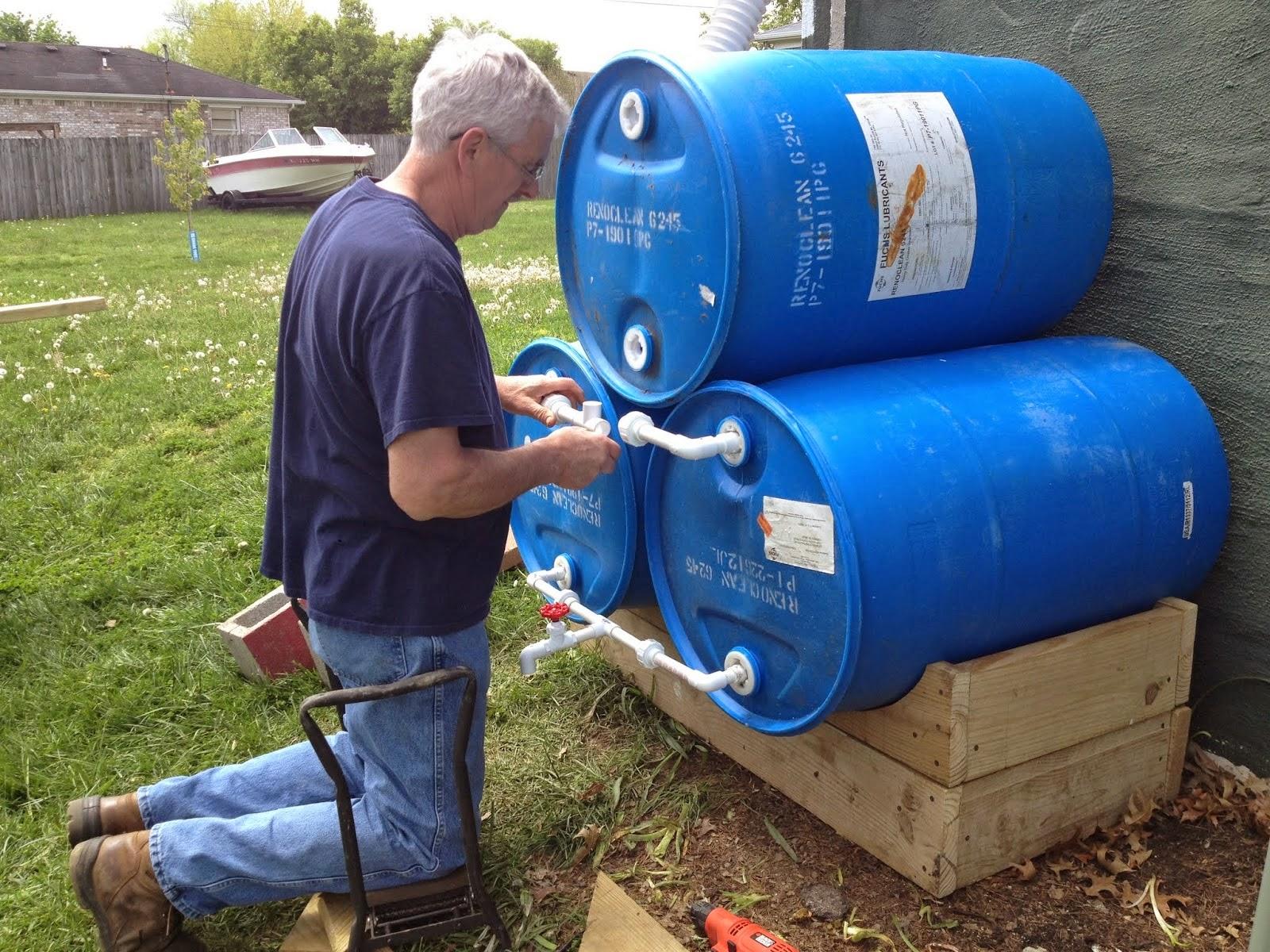 Tambor bombonas tonel barril de pl stico tambor 200 for Tambores para agua potable