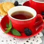 Chá de amora para a saúde