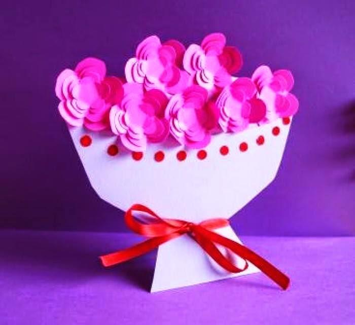 Как сделать цветок маме на день рождения