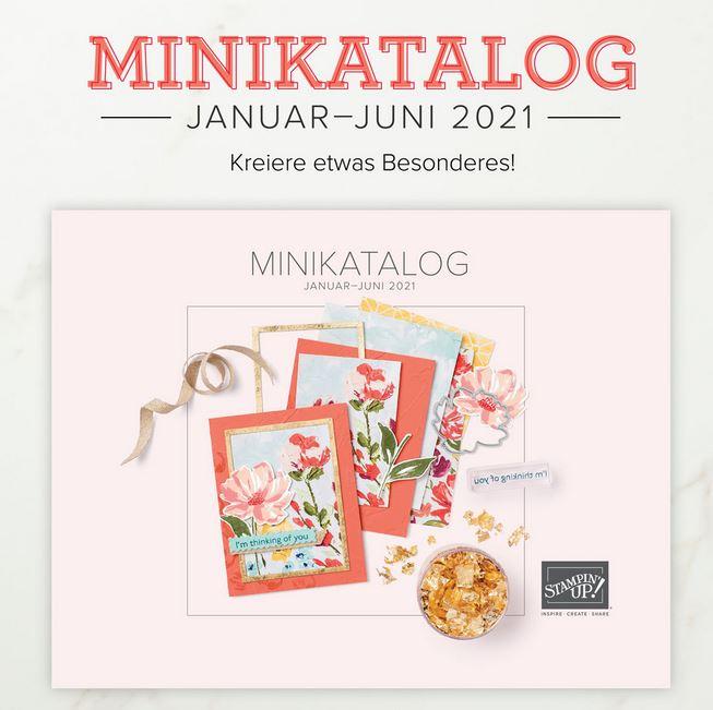 Der Minikatalog für Frühjahr und Sommer