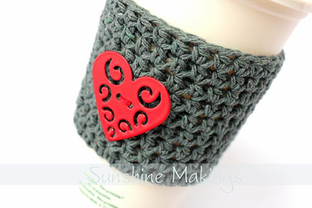 Valentines Day Coffee Cup Sleeve