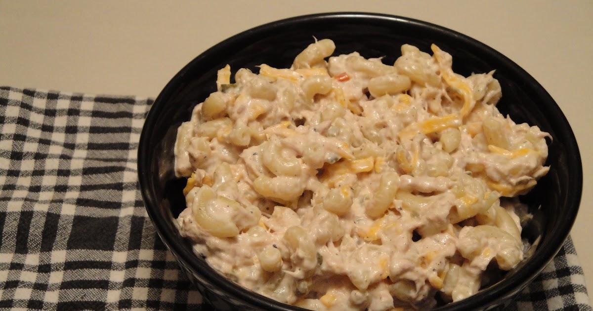Christine 39 s pantry tuna macaroni salad for Tuna fish macaroni salad