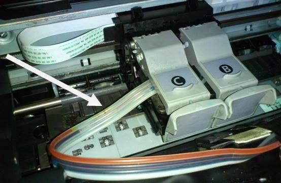 printer infus masuk angin