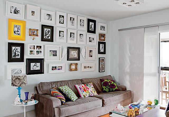 Fotos de fam lia jeito de casa blog de decora o e for Como hacer un cuadro con fotos familiares