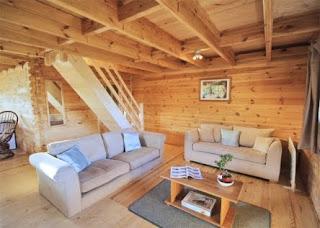 log cabin holiday home