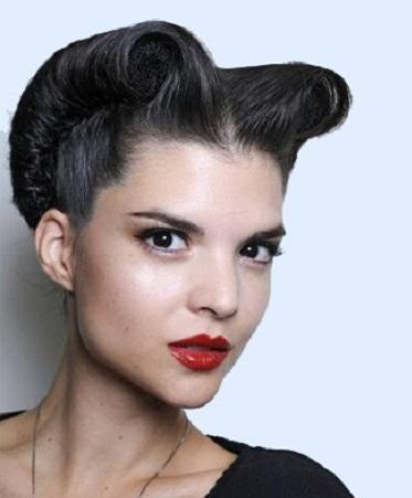 Peinados Pin Up Pelo Corto - Pelo Corto Rockabilly en Pinterest Cortes De Pelo Corto