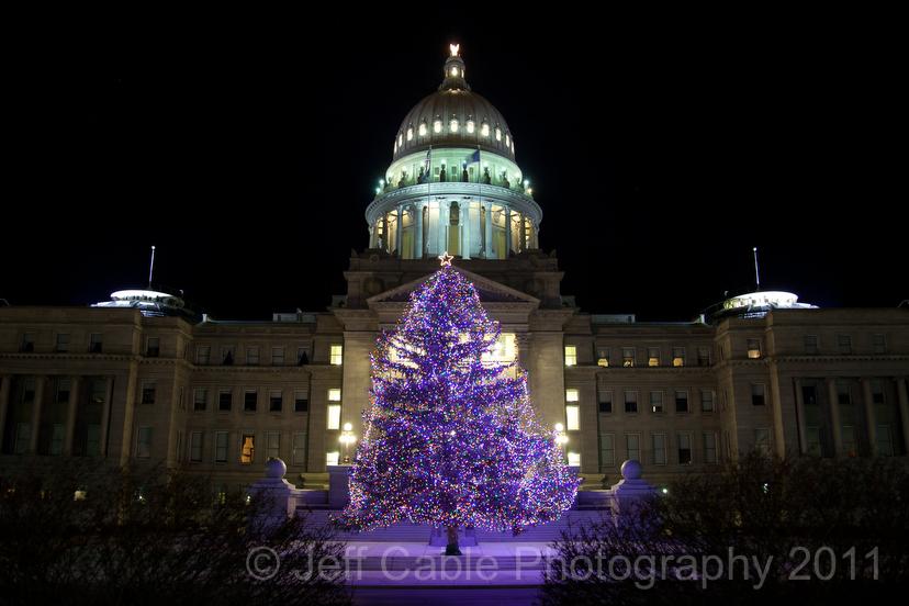 Boise Idaho Christmas lights around the capital & Jeff Cableu0027s Blog: Boise Idaho: Christmas lights around the capital