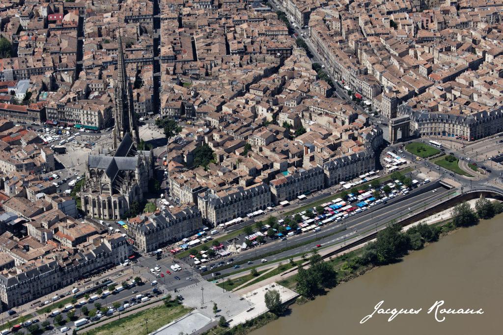 Bordeaux photo a rienne la france vue du ciel mai 2012 - La table du quai bordeaux ...