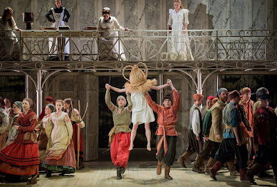 Eugene Onegin at Grange Park Opera, 2015 - photo credit Robert Workman