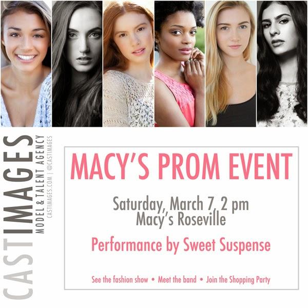 Cast Images - Macy's Prom Event - Sat March 7 - 2 pm