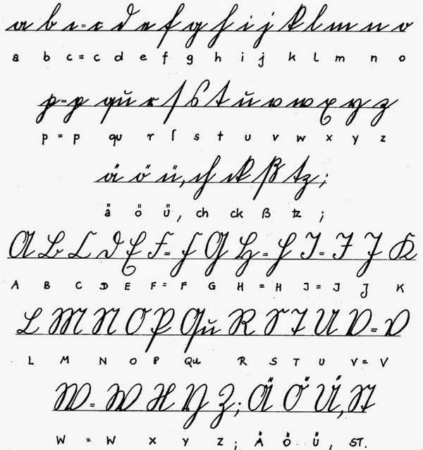 Examples of Handwriting