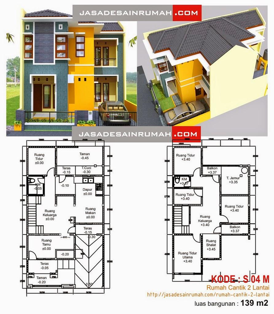 Desain Rumah Minimalis 1 Lantai Beserta Denahnya Foto Desain