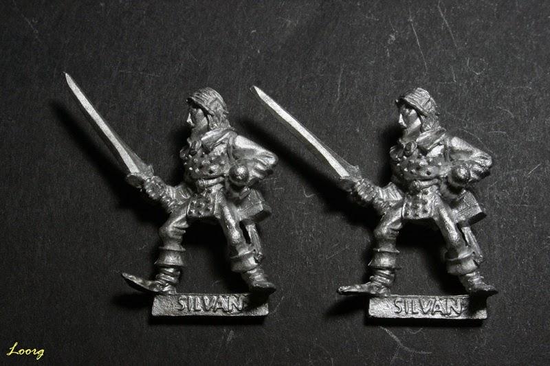 Elfo Silvano con espada, Sword 12 de referencia 074213/13