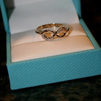 Golden Engagement Ring
